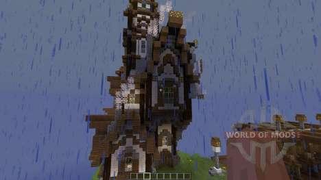 Steampunk Island für Minecraft