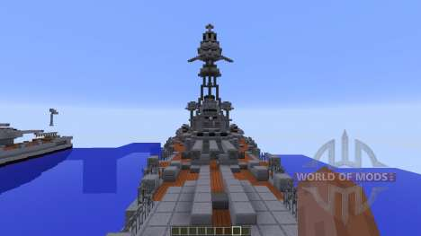 WW2 Battleships pour Minecraft