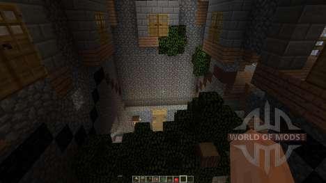 Dianites Fortress Overgrown für Minecraft
