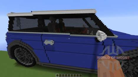Mini Cooper für Minecraft
