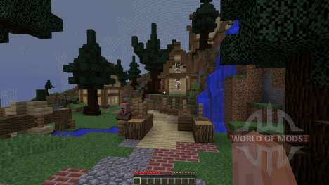Protect The Town für Minecraft