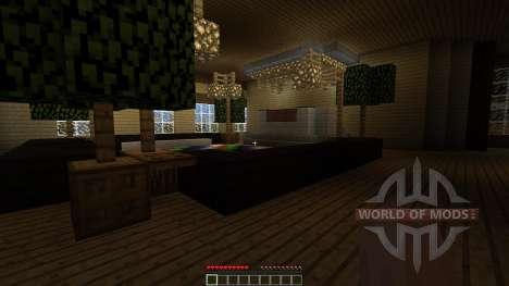 Minecraft map The Mansion für Minecraft