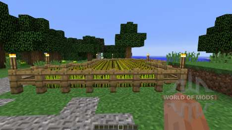 Medieval House Farm für Minecraft