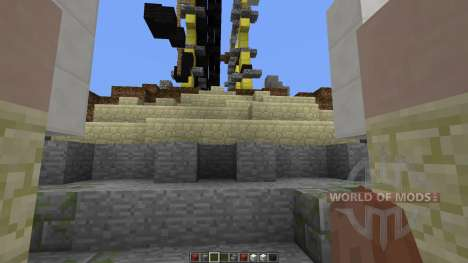 NIGHTMARE Fantasy Ship für Minecraft