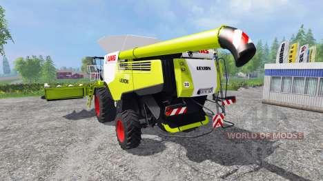 CLAAS Lexion 780 [set] pour Farming Simulator 2015