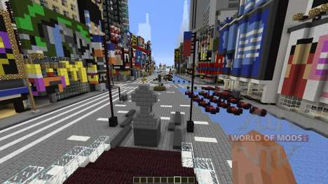 Times Square Manhattan Replica für Minecraft