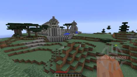 Temple Of Azura 2 für Minecraft