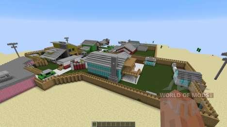 Nuketown Black Ops pour Minecraft