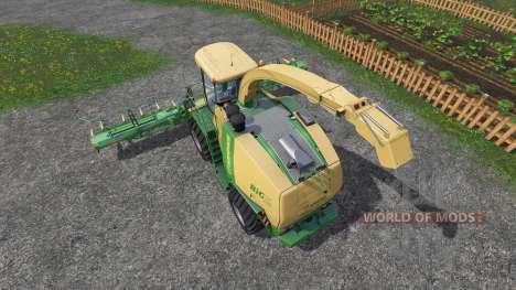 Krone Big X 1100 [inluding cutters] für Farming Simulator 2015