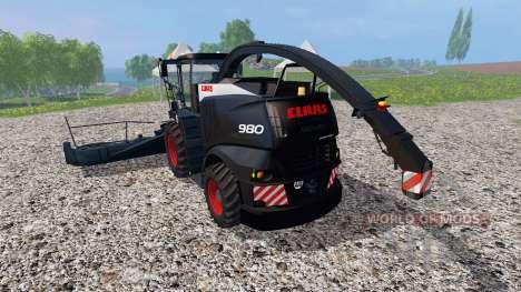 CLAAS Jaguar 980 v1.1 pour Farming Simulator 2015