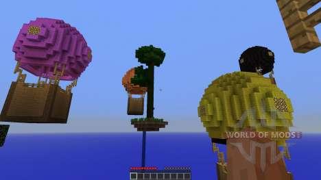 Hot Air Balloon Survival Survival Map pour Minecraft