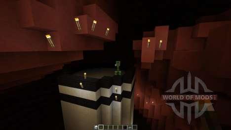 Mars Biome MASSIVE UNDERGROUND CAVES für Minecraft