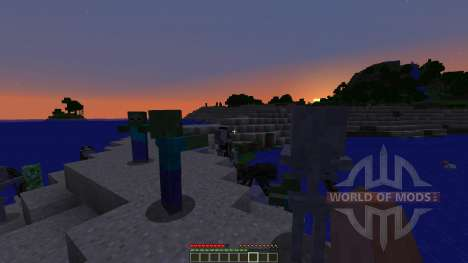Ender Island A Difficult Island Survival Map für Minecraft