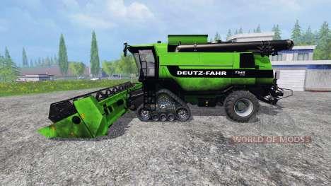 Deutz-Fahr 7545 [washable] v1.1 pour Farming Simulator 2015
