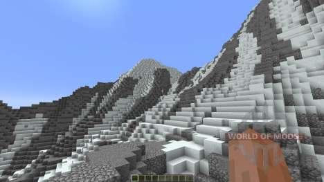 Super realistic mountain pour Minecraft
