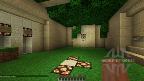 Arena Map w Classes für Minecraft