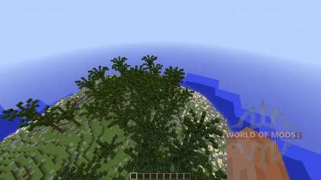 Custom Terrain Volcanic Island für Minecraft