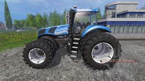 New Holland T8.435 v3.5 pour Farming Simulator 2015