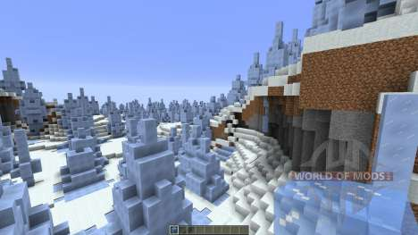 Ice Structure pour Minecraft