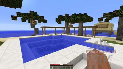 Holiday island für Minecraft