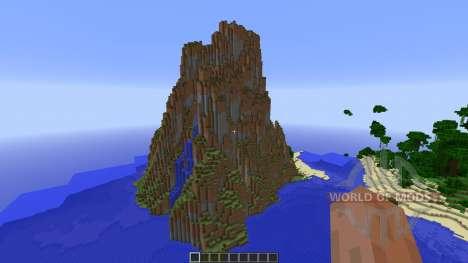 Aero Island Custom Island Landscape für Minecraft