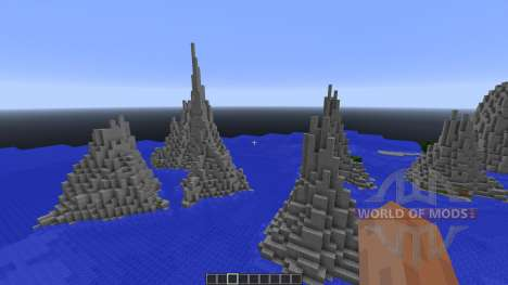 Mountain Island Map pour Minecraft