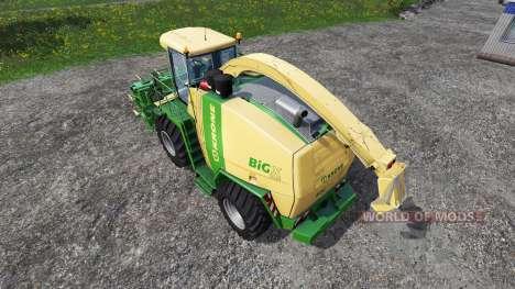 Krone Big X 1100 [rent] pour Farming Simulator 2015