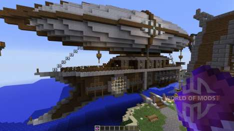 Steampunk Airship Of Thernop pour Minecraft