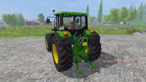 John Deere 6125M pour Farming Simulator 2015