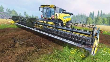 New Holland Super Flex Draper 45 pour Farming Simulator 2015