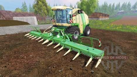 Krone Big X 1100 [tank 300000 liters] v1.2 pour Farming Simulator 2015