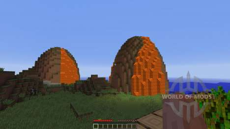 The Volcanic Island of Honala pour Minecraft