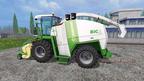Krone Big X 1100 [color edition] pour Farming Simulator 2015