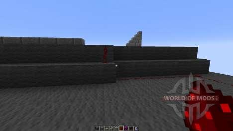 SR-71 BlackBird für Minecraft