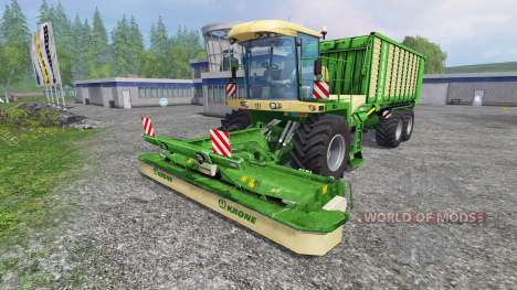 Krone BIG L500 pour Farming Simulator 2015