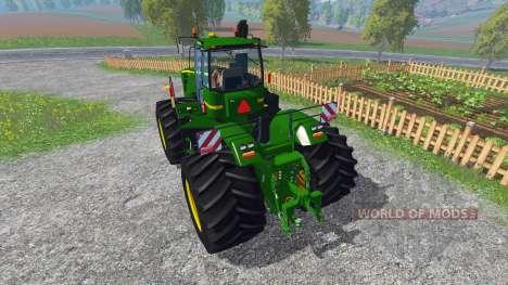 John Deere 9630 terra tires für Farming Simulator 2015