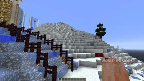 Frozen Elsas Ice Castle für Minecraft