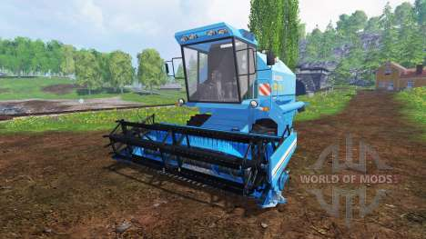 Bizon Z058 pour Farming Simulator 2015