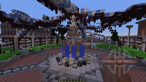 Shady Hollow Minecraft Survival Games Map für Minecraft