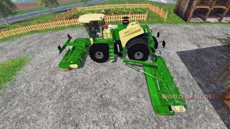 Krone Big M 500 v1.1 pour Farming Simulator 2015