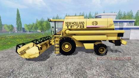 New Holland TF78 für Farming Simulator 2015