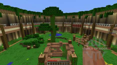 Arena Map w Classes pour Minecraft