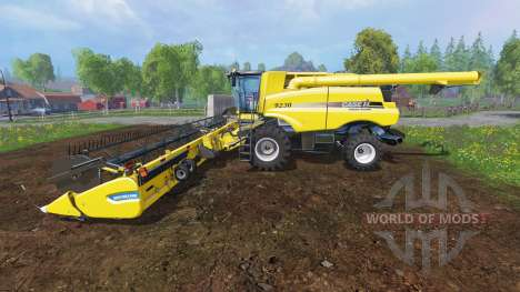 Case IH Axial Flow 9230 [multifruit] pour Farming Simulator 2015