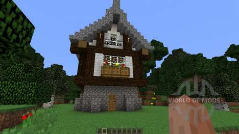 Medieval House map pour Minecraft