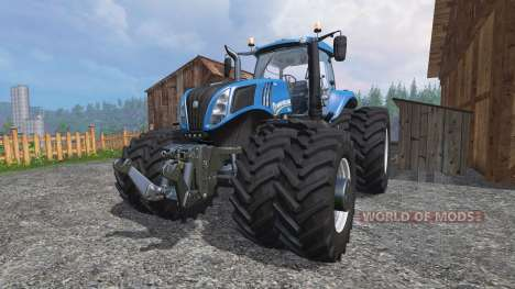 New Holland T8.435 v2.0 für Farming Simulator 2015