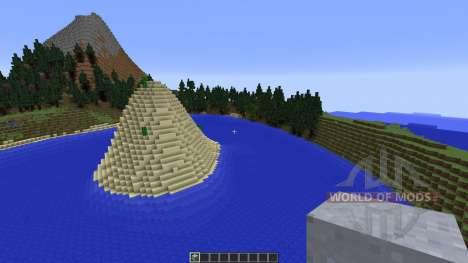 The Island of the Sunken Claw für Minecraft