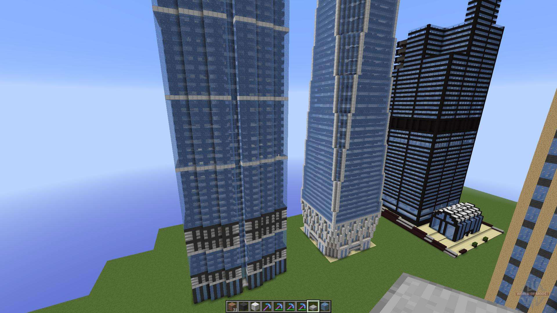 Famous u s buildings pour minecraft for Minecraft moderno