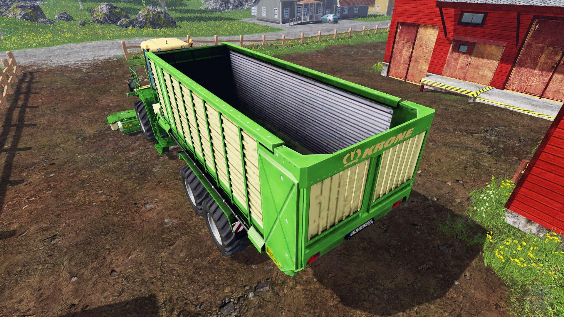krone big l500 prototype f r farming simulator 2015. Black Bedroom Furniture Sets. Home Design Ideas