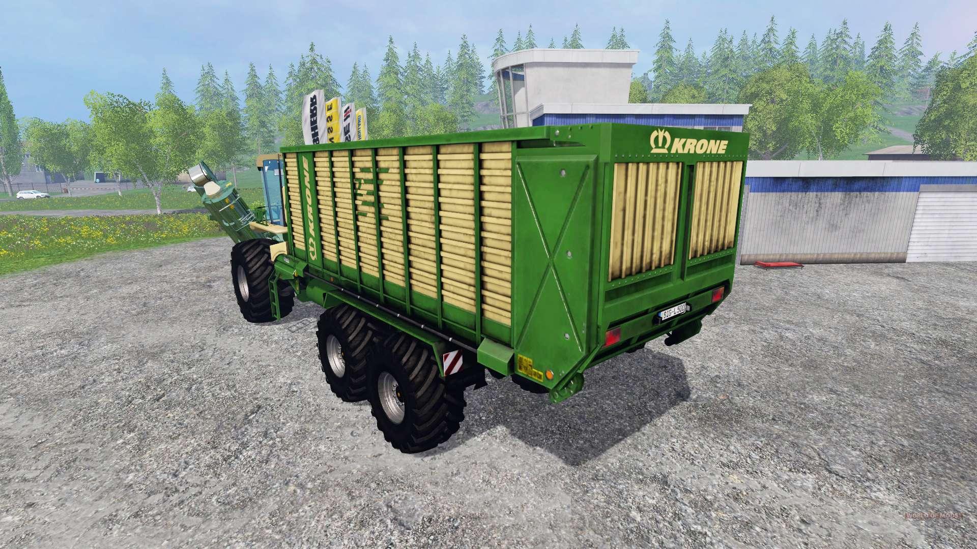 krone big l500 prototype v1 5 f r farming simulator 2015. Black Bedroom Furniture Sets. Home Design Ideas