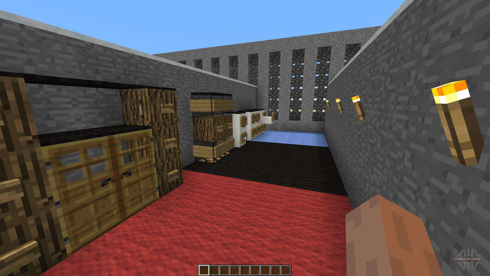 Furnitures 2 pour minecraft for Minecraft meuble